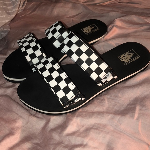 d4cb023653d Cayucas slides by Vans. M 5bc0e84a34a4ef553541343f. Other Shoes ...